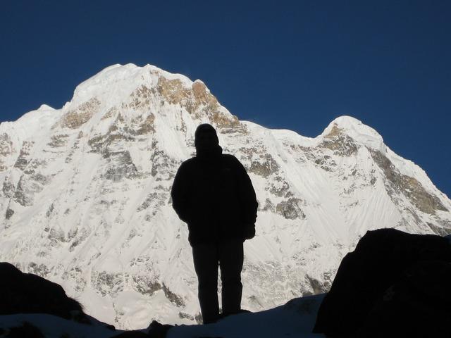 Annapurna himalayas nepal, nature landscapes.