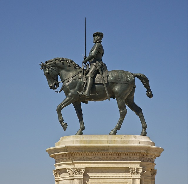 Anne de montmorency equestrian statue.