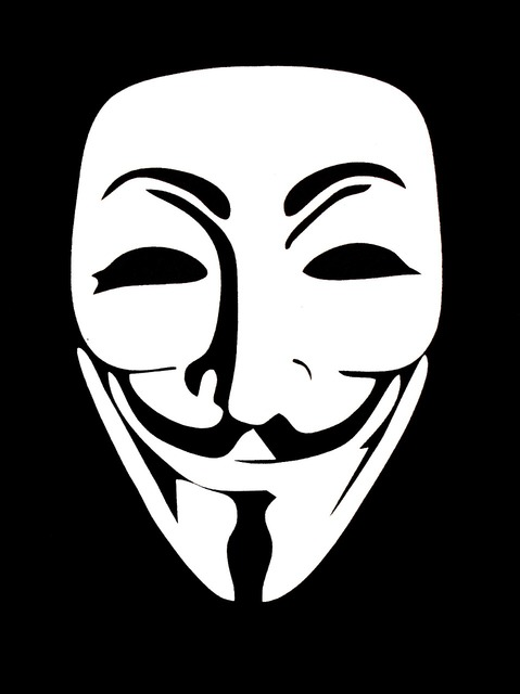Anonymus revolution guy fawkes, people.