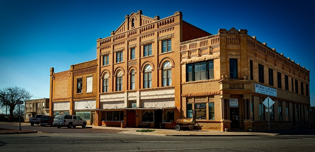 Anson texas opera house, places monuments.