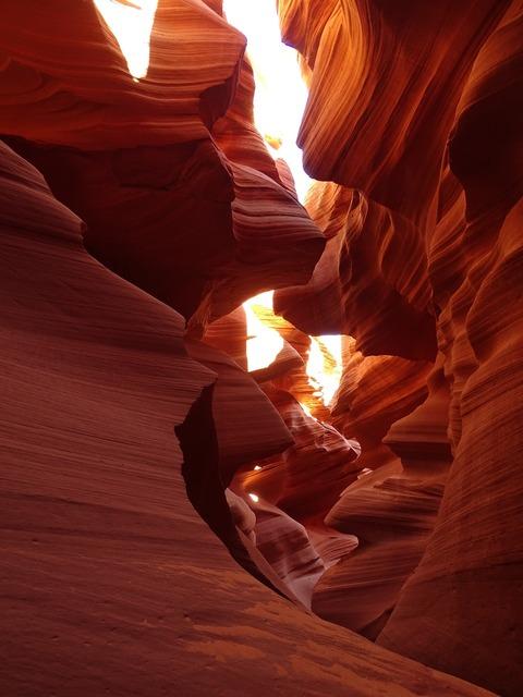 Antelope gorge rock.