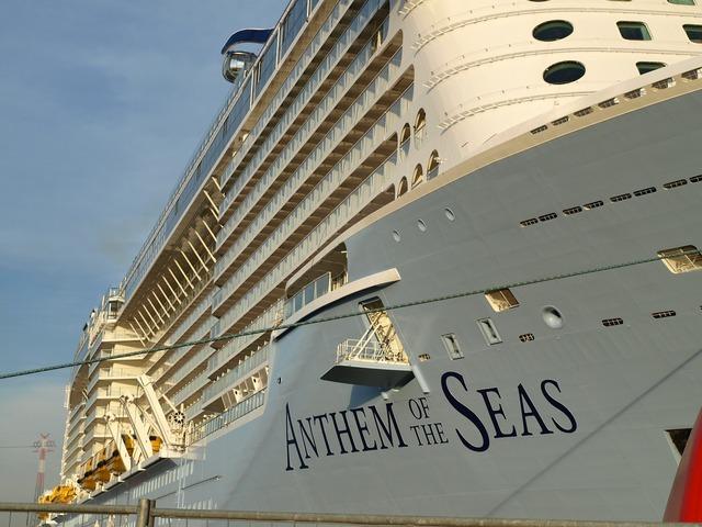 Anthem of the seas cruise ship ozeanriese.