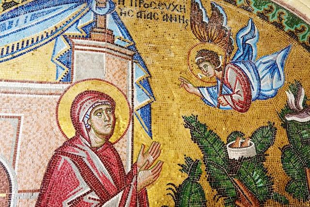 Antique art artwork, religion.