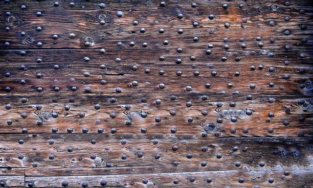 Antique historically planks.
