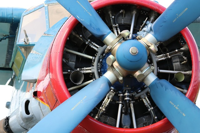 Antonov radial engine aircraft.