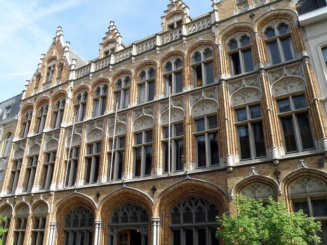 Antwerpen belpaire instituut belgium, architecture buildings.