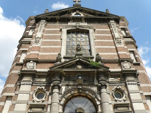 Antwerpen militair hospital belgium, architecture buildings.