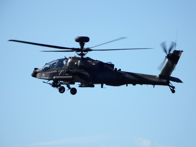 Apache helicopter military.