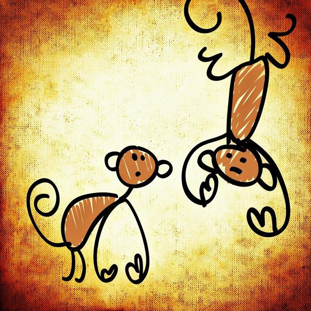 Ape funny cute, animals.