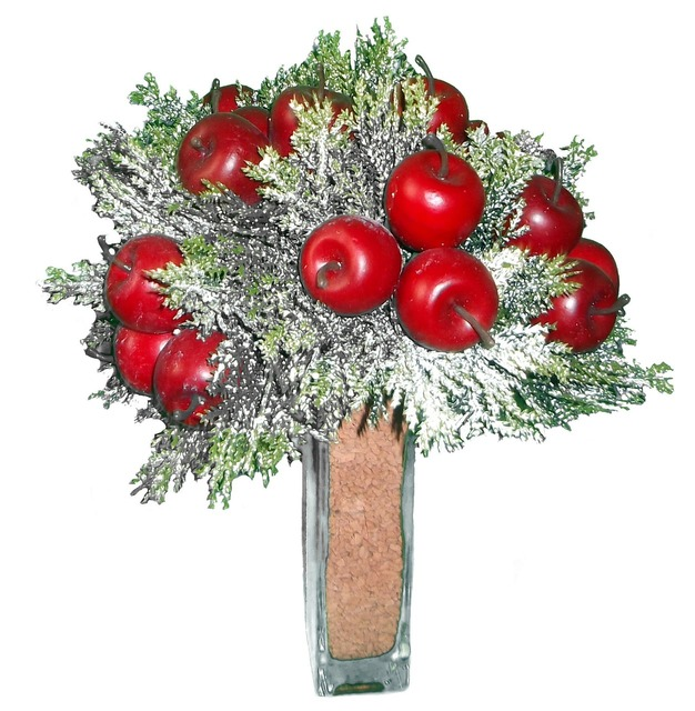 Apfeldeco deco christmas decorations, nature landscapes.