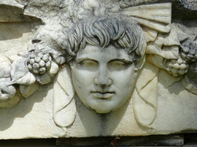 Aphrodisias antique antiquity, religion.