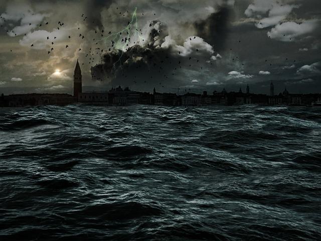 Apocalypse venice sea.