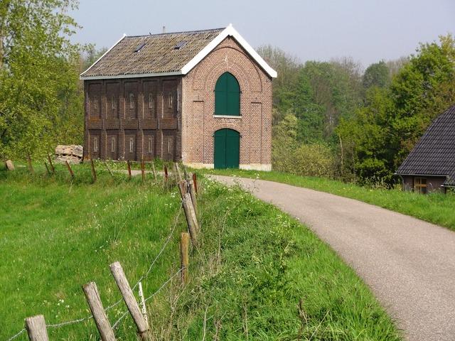 Appeltern house building, architecture buildings.