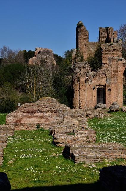Appia rome ruins.
