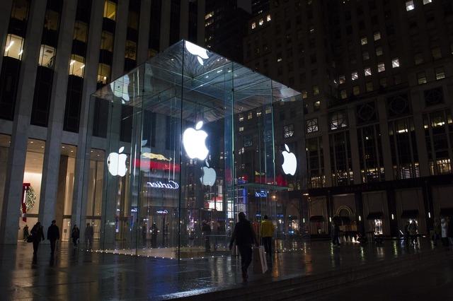 Apple center new york fifth avenue, architecture buildings.