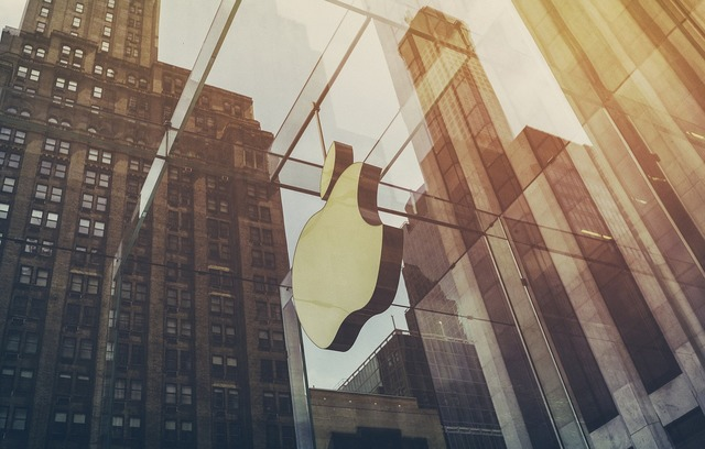 Apple company building, architecture buildings.