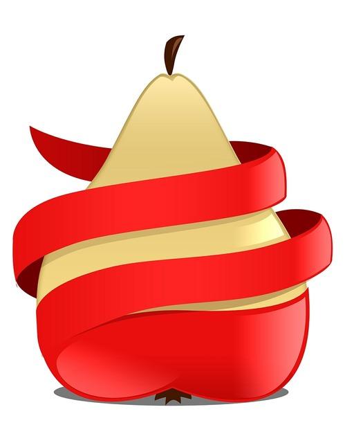 Apple pear red, food drink.