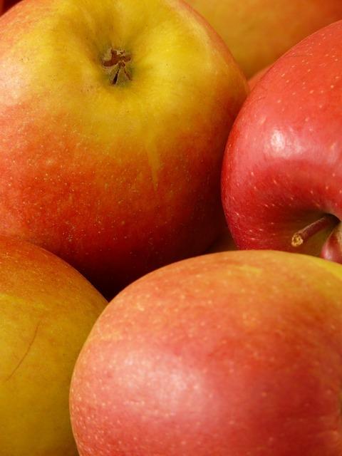 Apple red healthy, food drink.