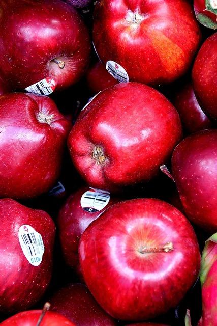 Apples red apples fruit, food drink.