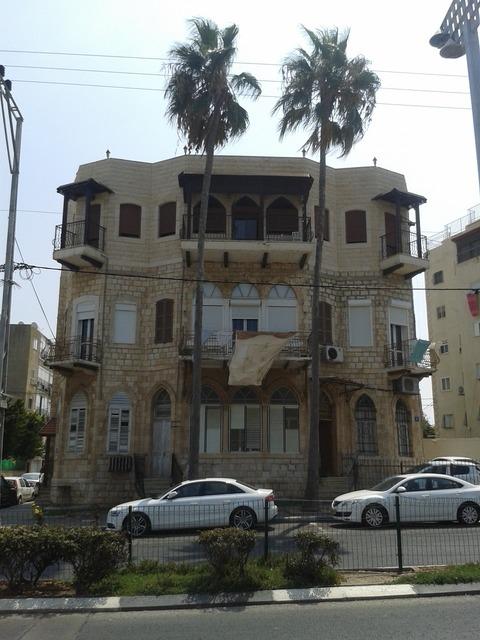 Arab house blue arabic, architecture buildings.
