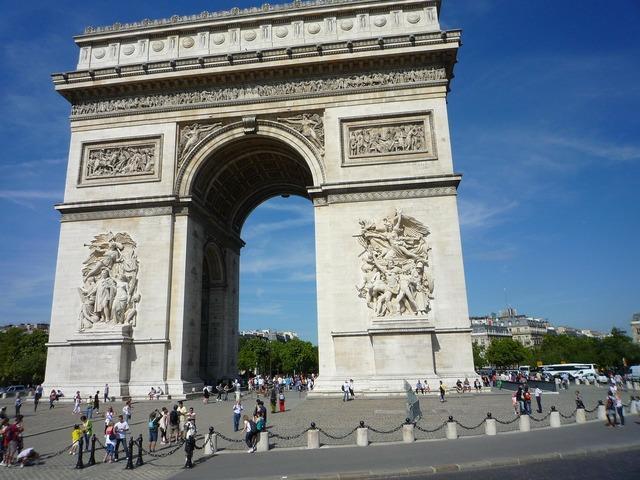 Arc de triomphe arc triomphe, places monuments.