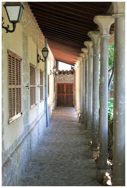 Arcade antique culture, architecture buildings.