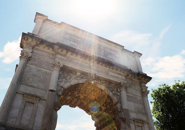 Arch of titus arc de triomphe rome, architecture buildings.