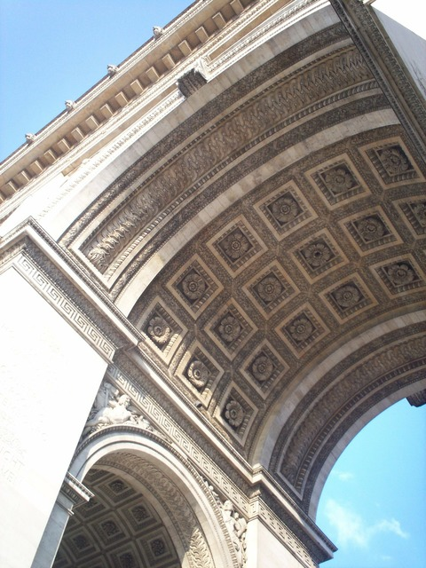 Arch of triumph angle architecture, architecture buildings.