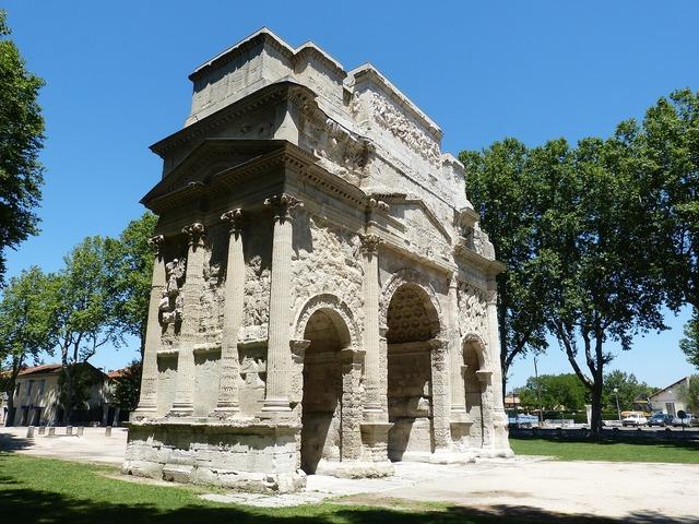 Arch portal arc de triomphe, architecture buildings.