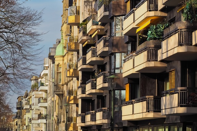 Architecture balconies facade, architecture buildings.