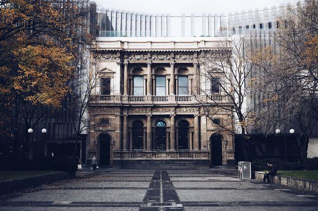 Architecture building columns, architecture buildings.