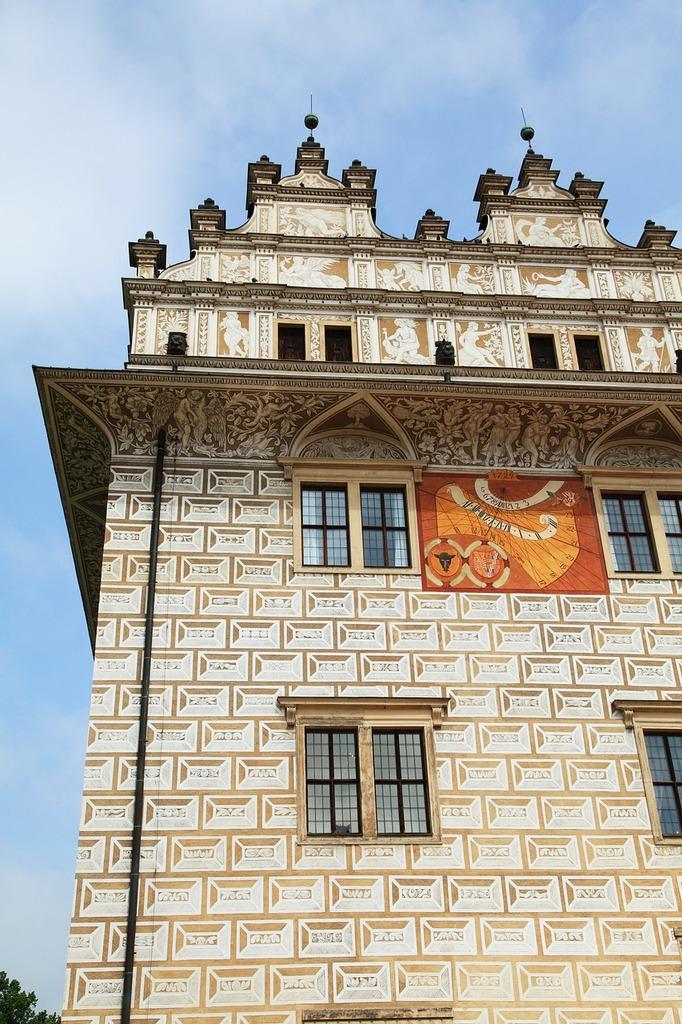 Architecture castle clock, architecture buildings.