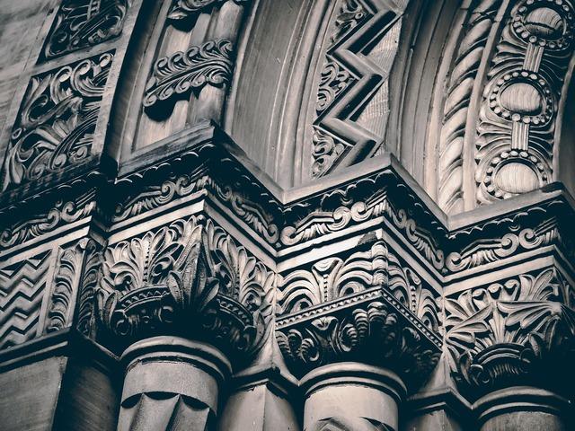 Architecture columnar building, architecture buildings.