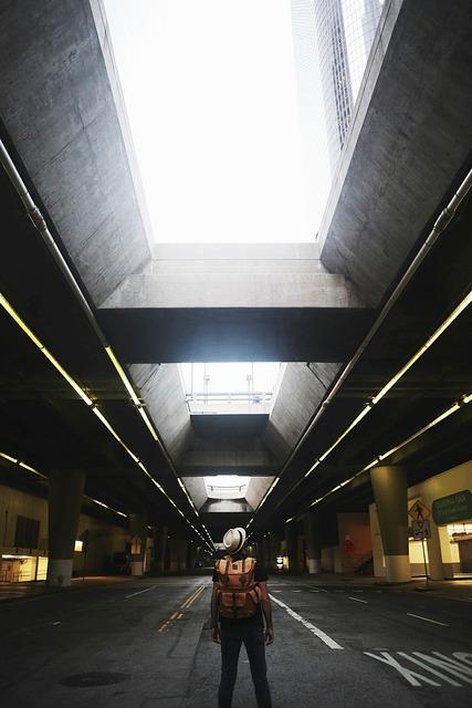 Architecture concrete parking, architecture buildings.