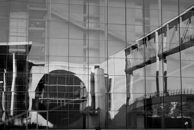 Architecture glass facade facade, architecture buildings.