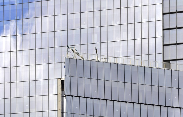 Architecture glass steel, architecture buildings.