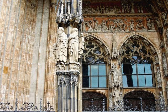 Architecture gothic portal, architecture buildings.