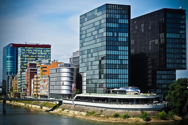 Architecture media harbour düsseldorf, architecture buildings.
