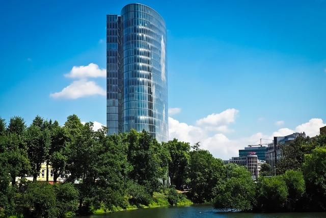 Architecture skyscraper glass facades, architecture buildings.