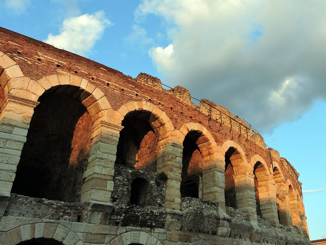Arena monument verona, architecture buildings.