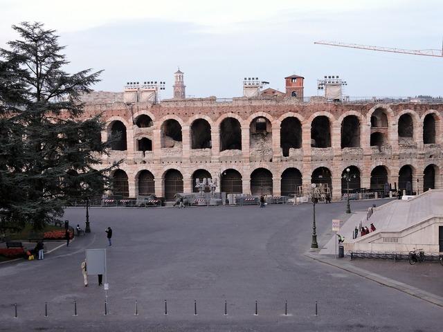 Arena verona italy, architecture buildings.