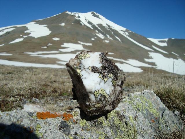 Arkhyz stone mountains.