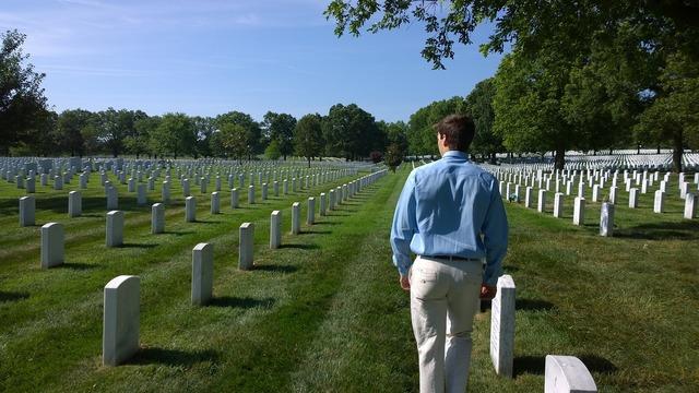 Arlington cemetery memorial, architecture buildings.