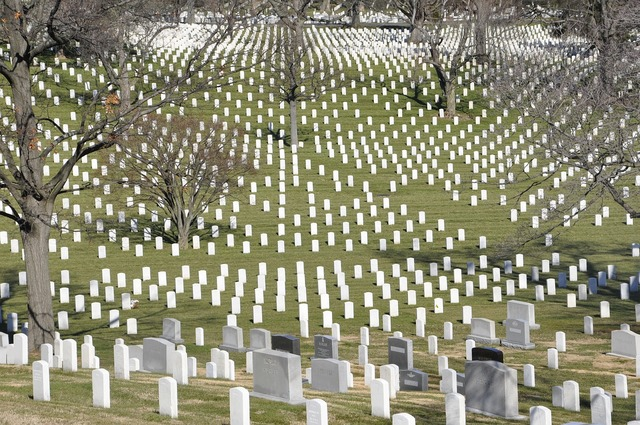 Arlington cemetery usa.