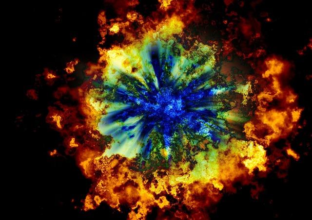 Armageddon explosion big bang.