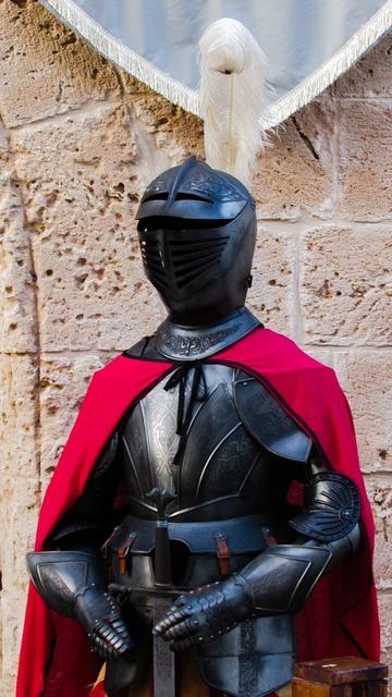 Armor medieval metal.