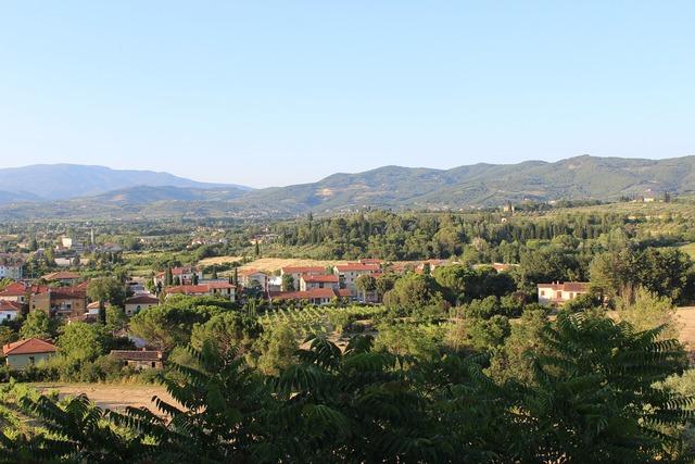 Arrezo italy village.
