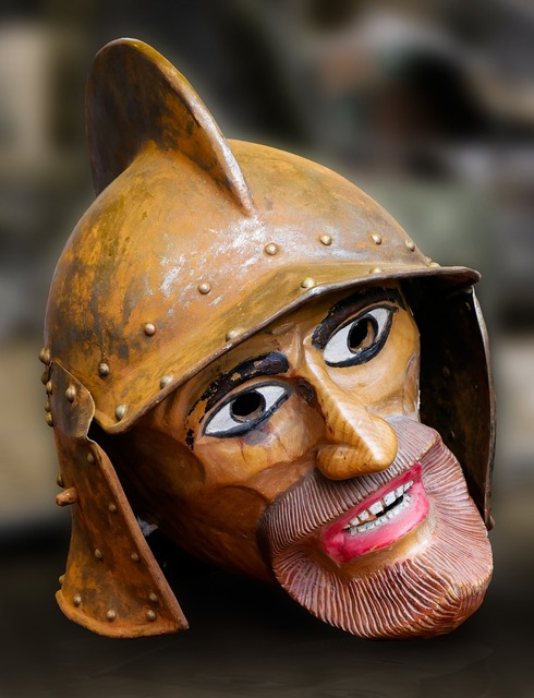 Art figure head.
