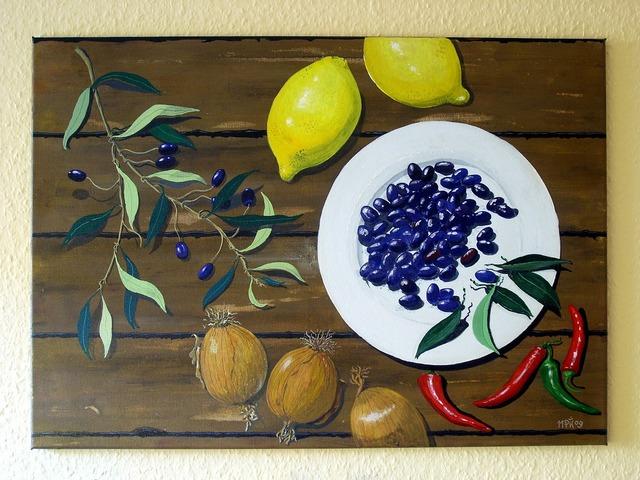 Art paint acrylic paint.