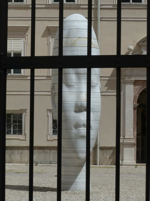 Art stone figure marble figure, people.
